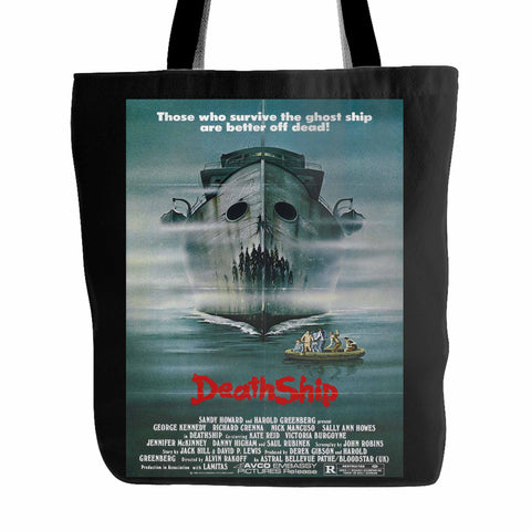 Death Ship (1980) Tote Bag