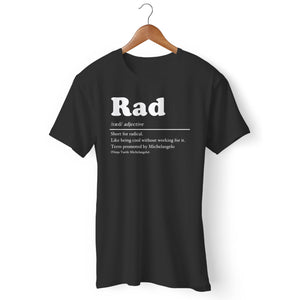 Definition Of Rad Man's T-Shirt