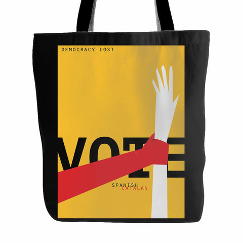 Democracy Lost Tote Bag