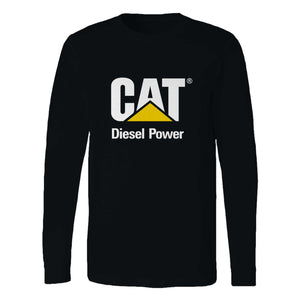 Diesel Power Cat Long Sleeve T-Shirt