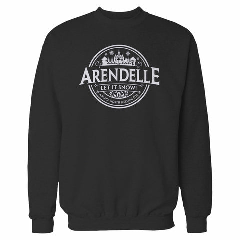 Disney Frozen Arendele Let It Snow Sweatshirt