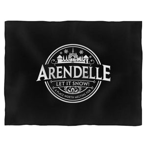 Disney Frozen Arendele Let It Snow Blanket