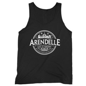 Disney Frozen Arendele Let It Snow Man's Tank Top