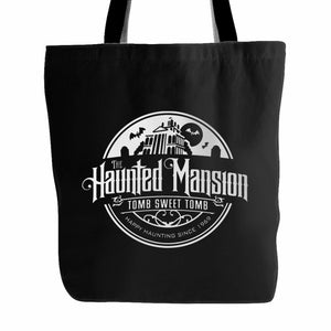 Disney Haunted Mansion Tote Bag