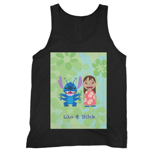 Disney Lilo & Stitch Cartoon Man's Tank Top