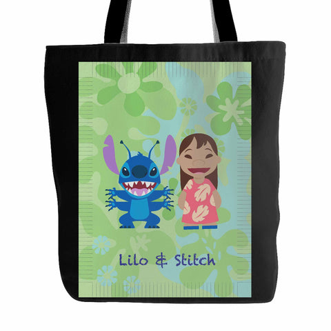 Disney Lilo & Stitch Cartoon Tote Bag