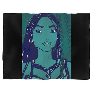 Disney Pocahontas Face 1 Blanket