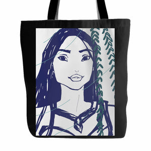Disney Pocahontas Face 2 Tote Bag