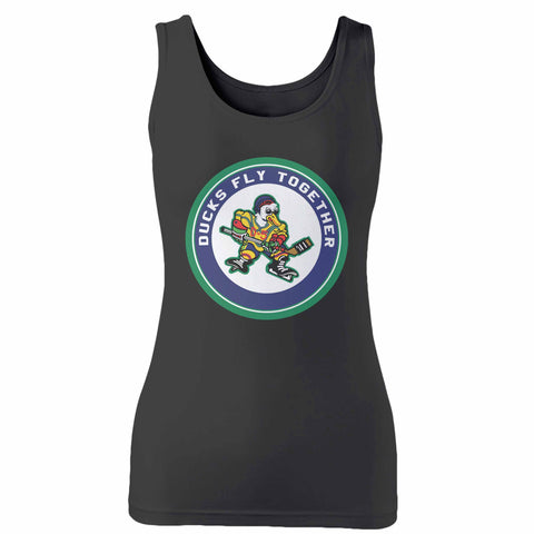 Ducks Fly Together Woman's Tank Top