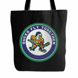 Ducks Fly Together Tote Bag