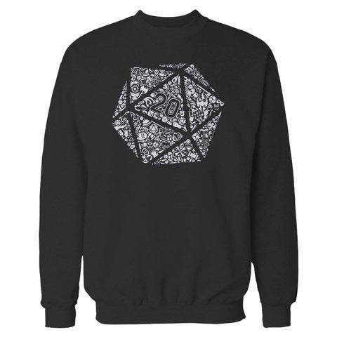 Dungeons And Dragons Dice Sweatshirt