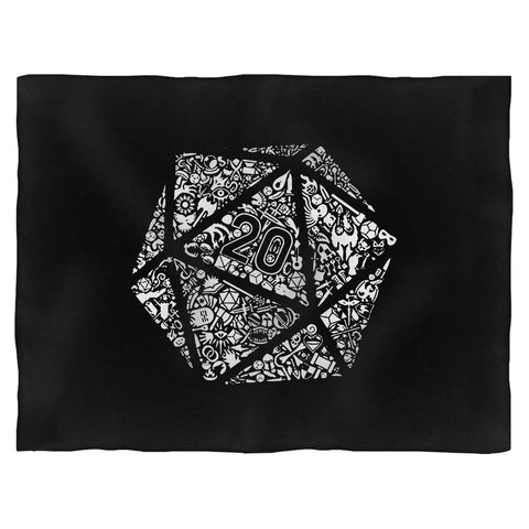 Dungeons And Dragons Dice Blanket