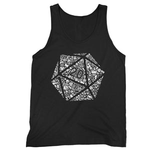 Dungeons And Dragons Dice Man's Tank Top