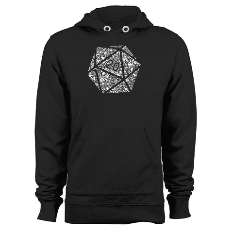 Dungeons And Dragons Dice Unisex Hoodie