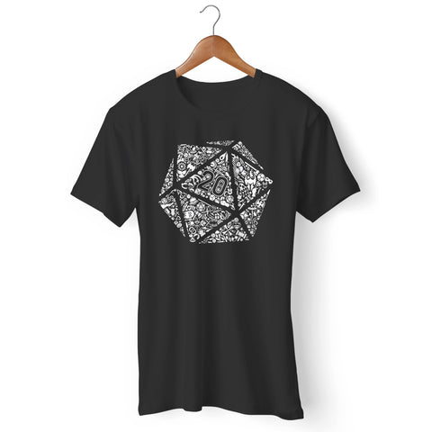 Dungeons And Dragons Dice Man's T-Shirt