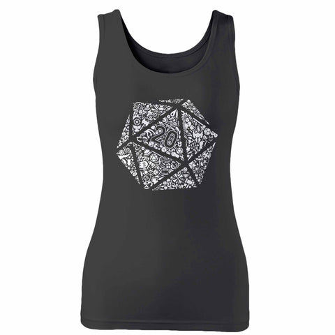 Dungeons And Dragons Dice Woman's Tank Top