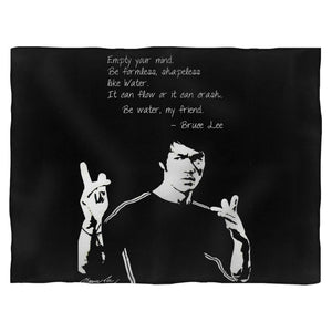 Empty Your Mind Be Formless Bruce Lee Blanket