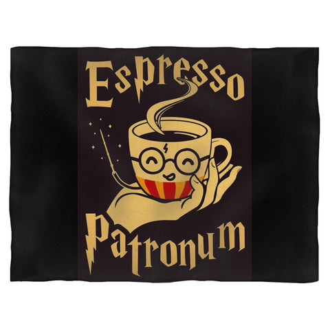 Espresso Patronum Coffee Harry Potter Hogwarts Blanket