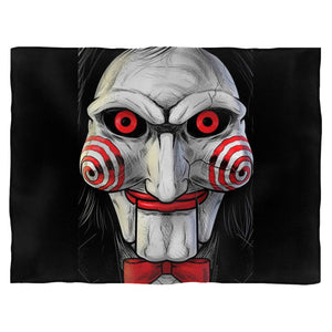 Face Saw Movie Blanket