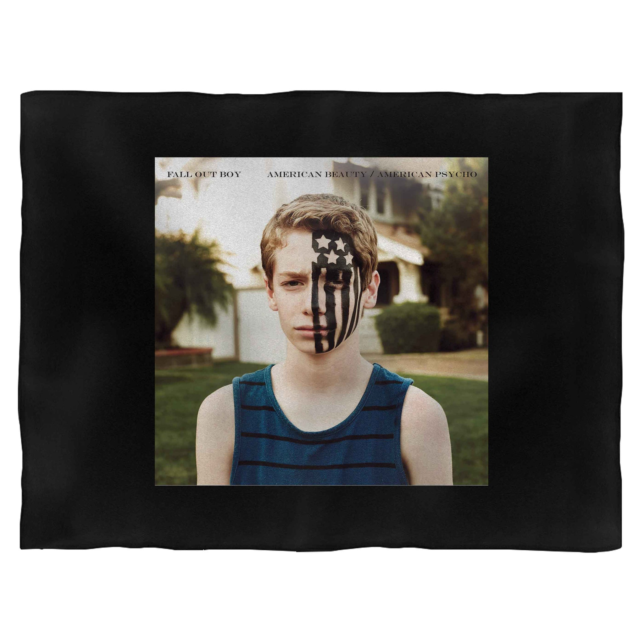 Fall Out Boy American Beauty Psycho Blanket