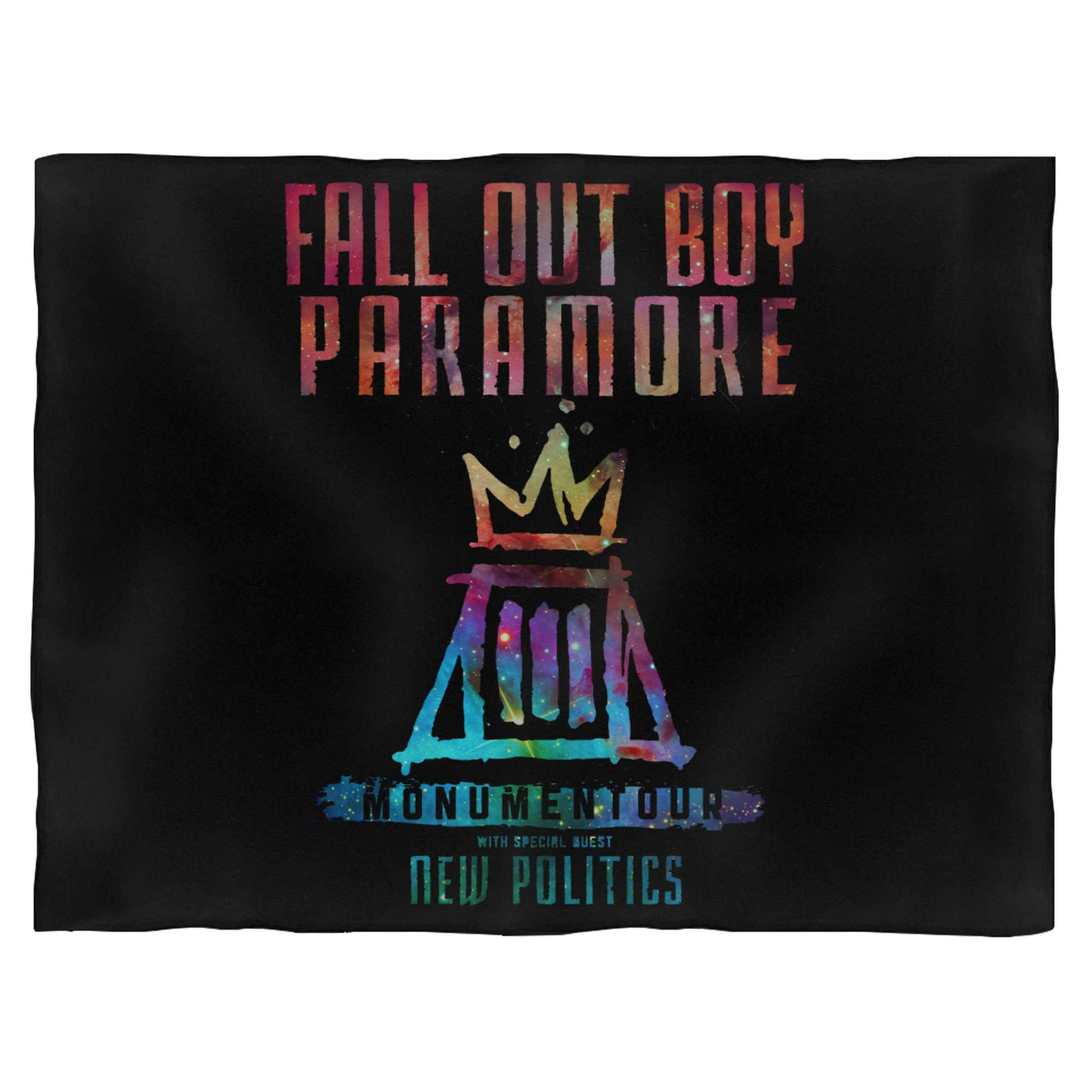Fall Out Boy Paramore Monumentour Blanket