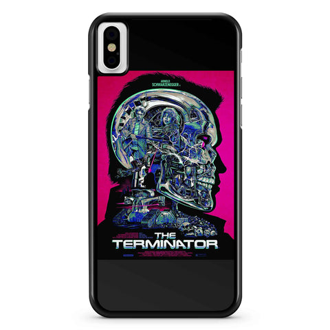Fan Art With Terminator Movie iPhone X / XS / XR / XS Max Case