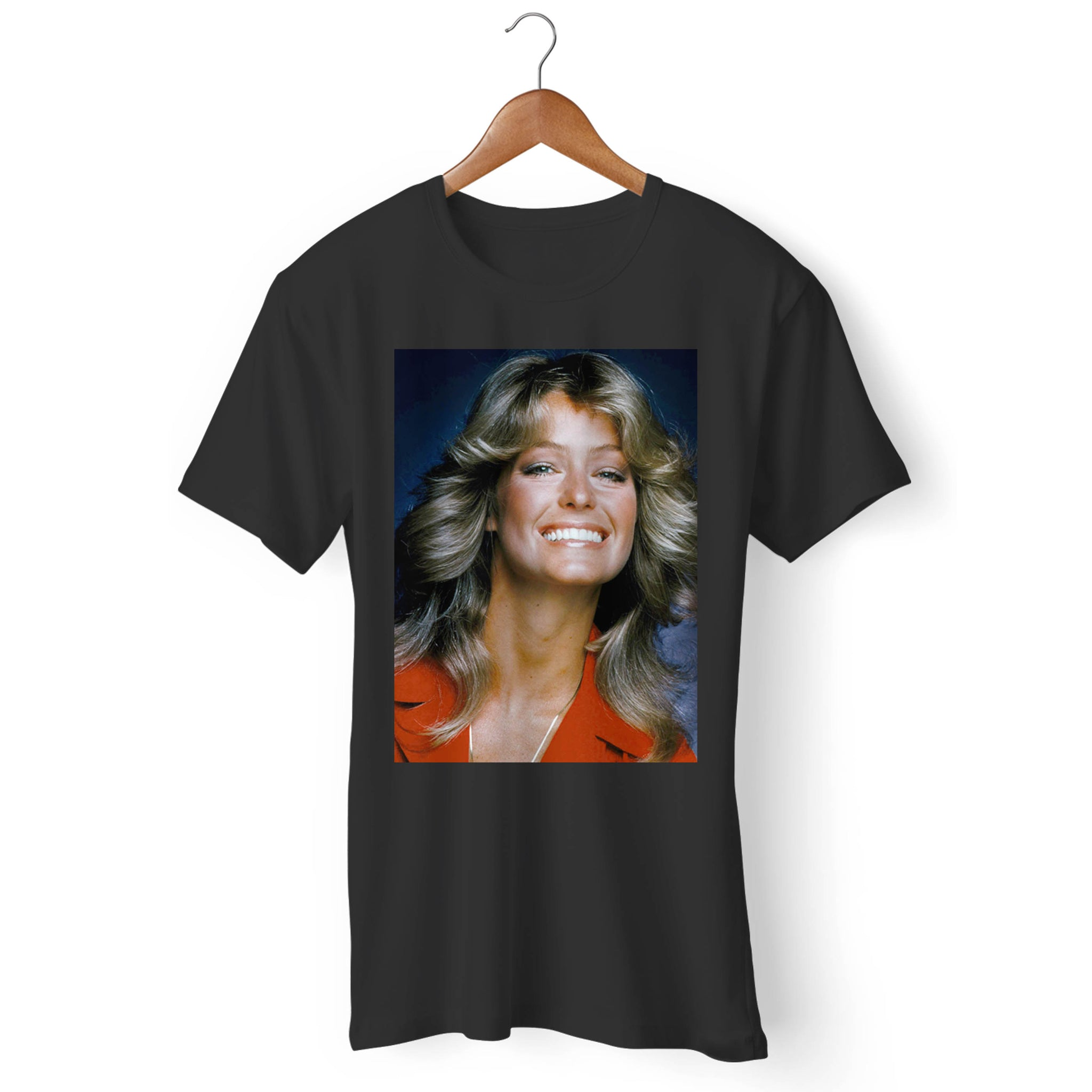 Farrah Fawcett Big Smiles Man's T-Shirt