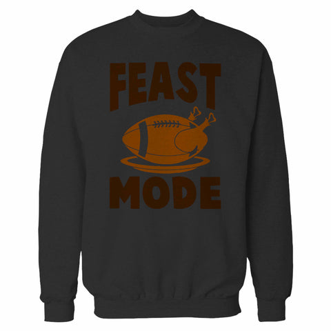 Feast Mode Thanksgiving Baseball Sweatshirt