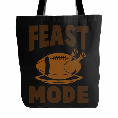 Feast Mode Thanksgiving Baseball Tote Bag