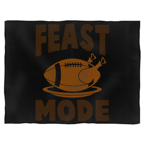 Feast Mode Thanksgiving Baseball Blanket