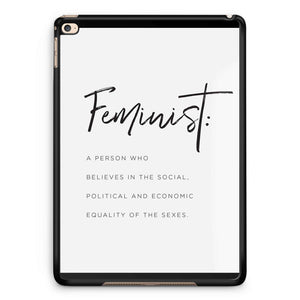 Feminist Definition iPad 2 / 3 / 4 / 5 / 6| iPad Air / Air 2 | iPad Mini 1 / 2 / 3 / 4 | iPad Pro Case