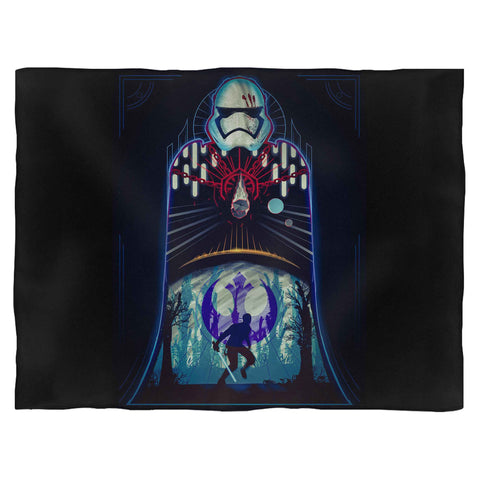 Finns Journey Star Wars Blanket