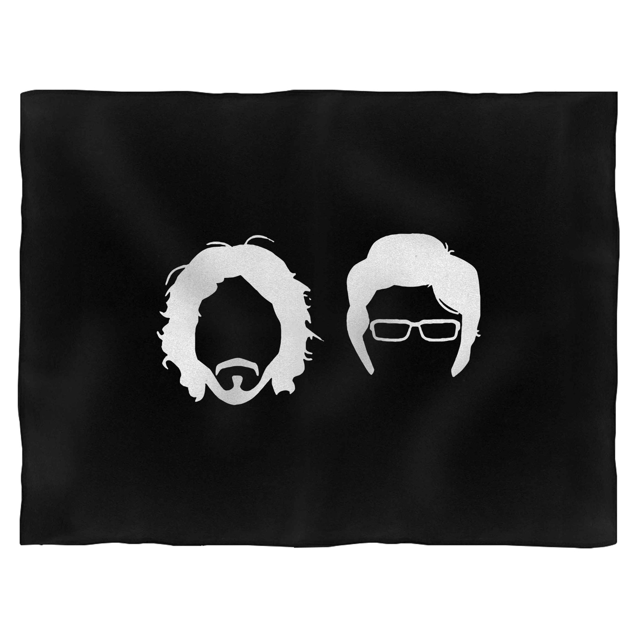 Flight Of The Conchords Jermaine And Bret Comedy Tv Show Blanket