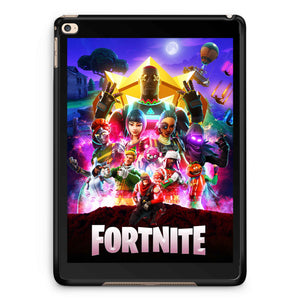 Fortnite Poster Character iPad 2 / 3 / 4 / 5 / 6| iPad Air / Air 2 | iPad Mini 1 / 2 / 3 / 4 | iPad Pro Case