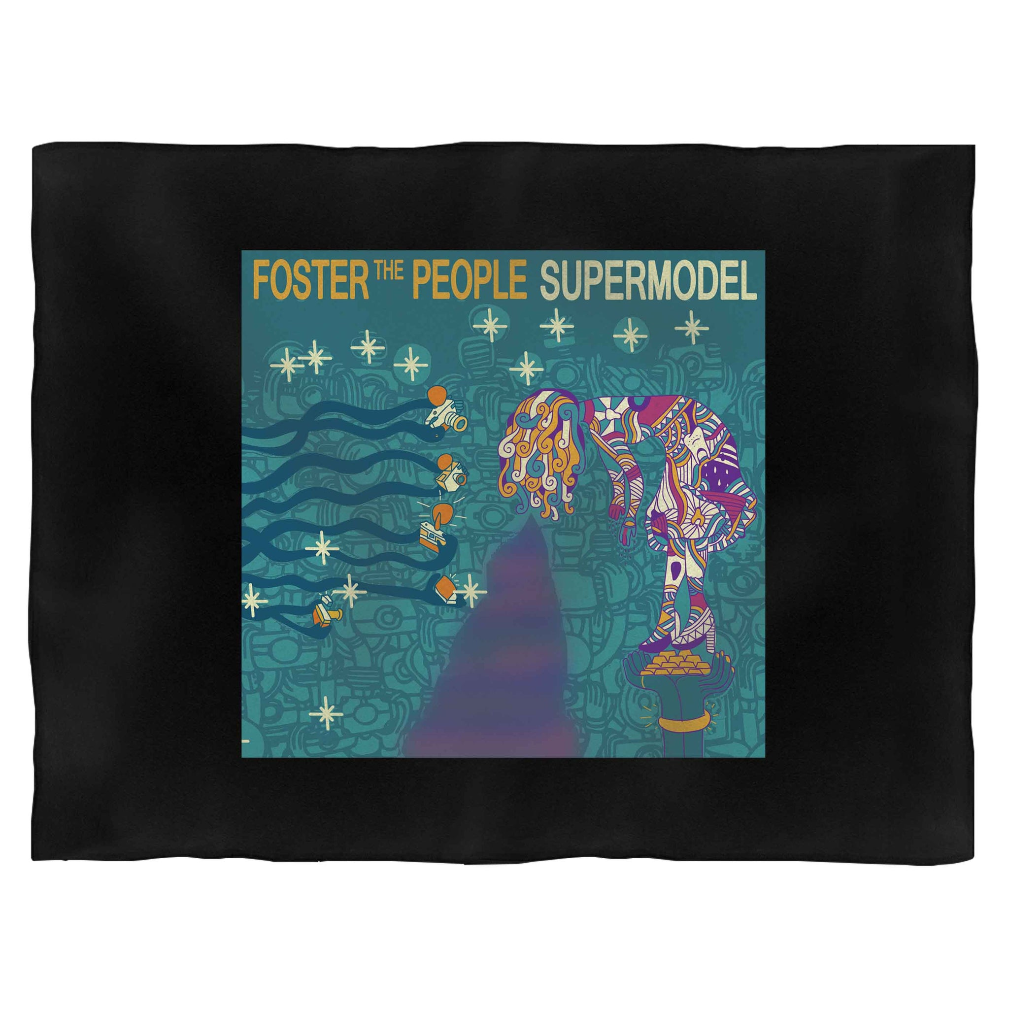 Foster The People Supermodel Blanket