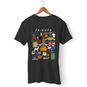 Friends Tv Show Art Man's T-Shirt