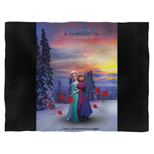 Frozen 2 Anna And Elsa Blanket