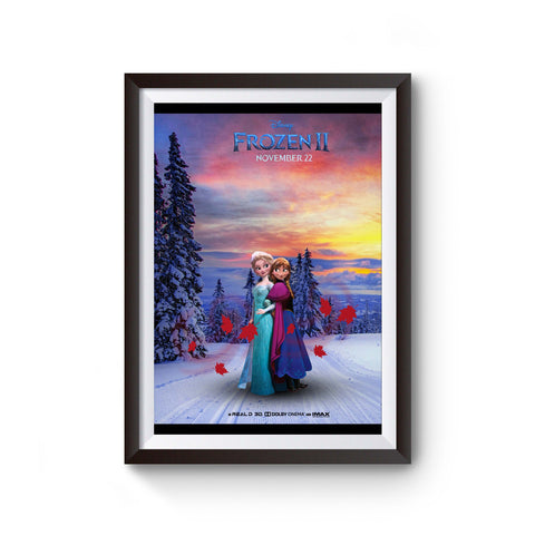 Frozen 2 Anna And Elsa Poster