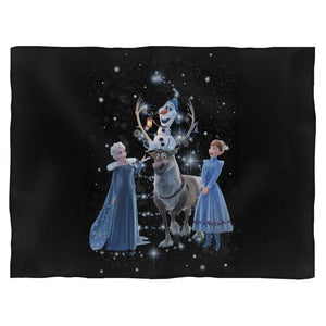Frozen 2 Disney Merry Christmas Blanket