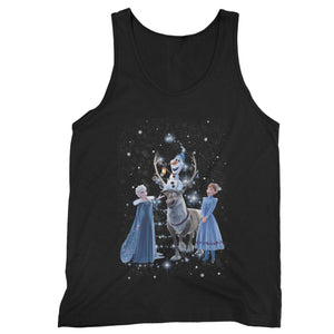 Frozen 2 Disney Merry Christmas Man's Tank Top