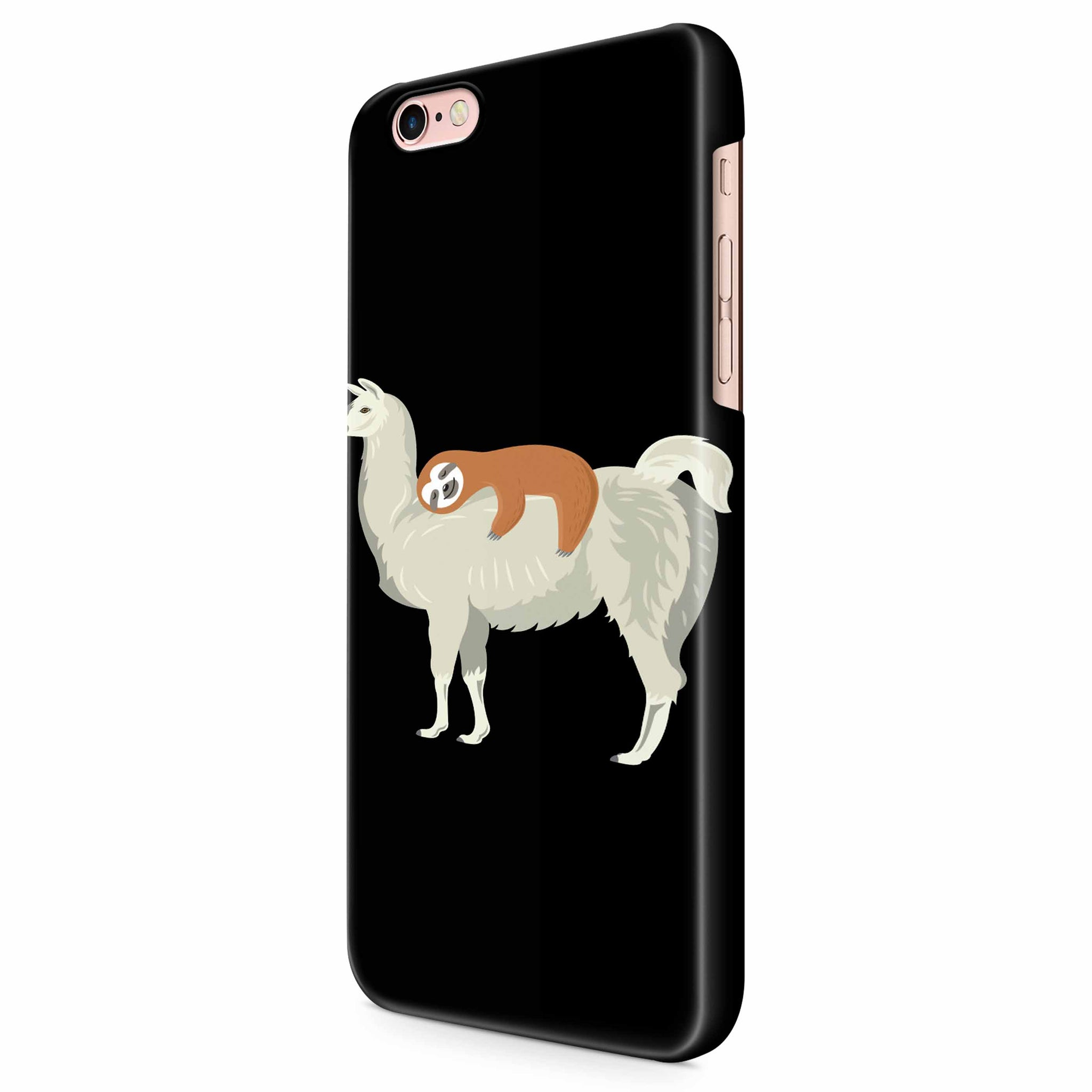 Funny Sloth Sleeping On Llama iPhone 6/6S/6S Plus | 7/7S/7S Plus | 8/8S/8S Plus| X/XS/XR/XS Max 3D Case