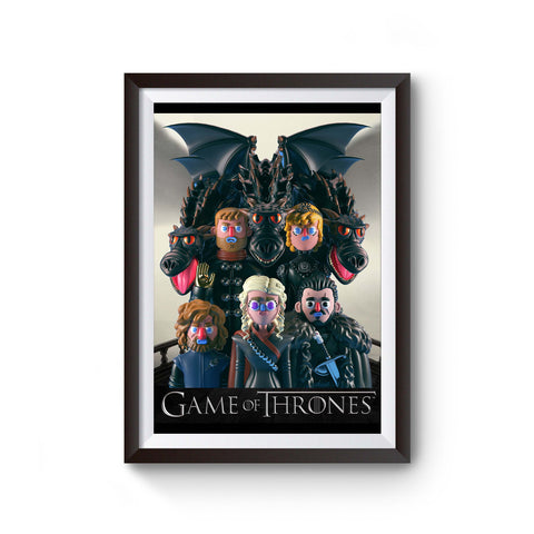 Game Of Thrones Lego Poster