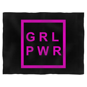 Girl Power Feminism Blanket