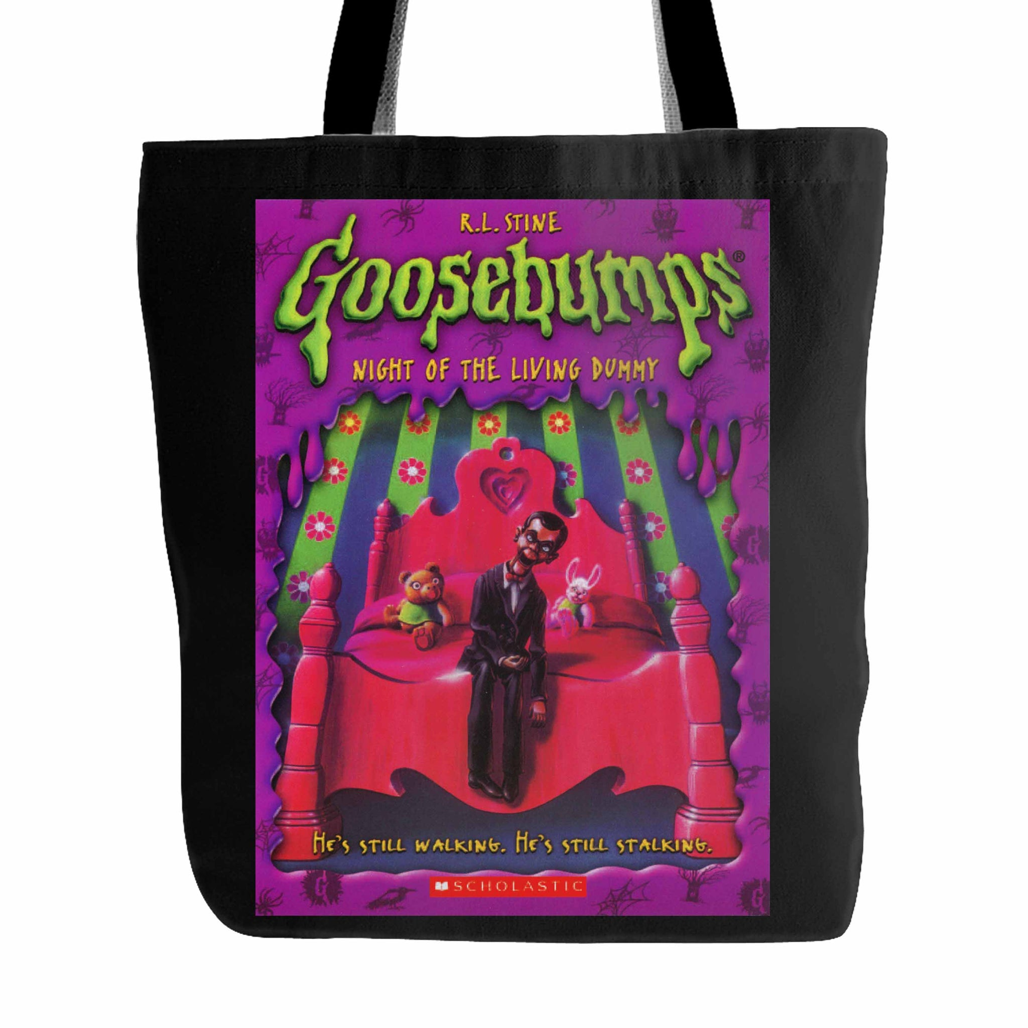 Goosebumps Night Of The Living Dummy Tote Bag