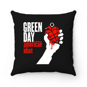 Green Day Punk Rock Band Pillow Case Cover