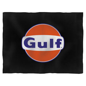 Gulf Oil Rusty Vintage Blanket