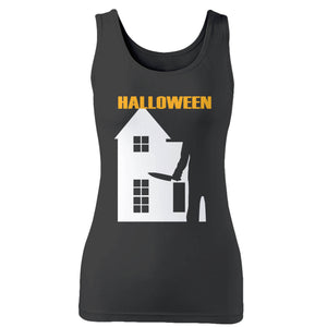Halloween Michael Myers Woman's Tank Top