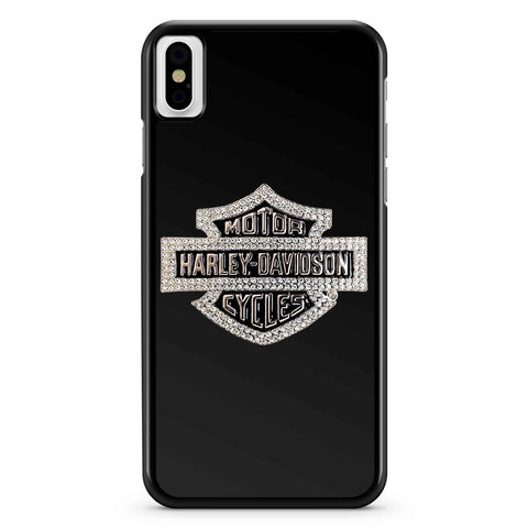 Harley Davidson Logo Sparkle iPhone X / XS / XR / XS Max Case