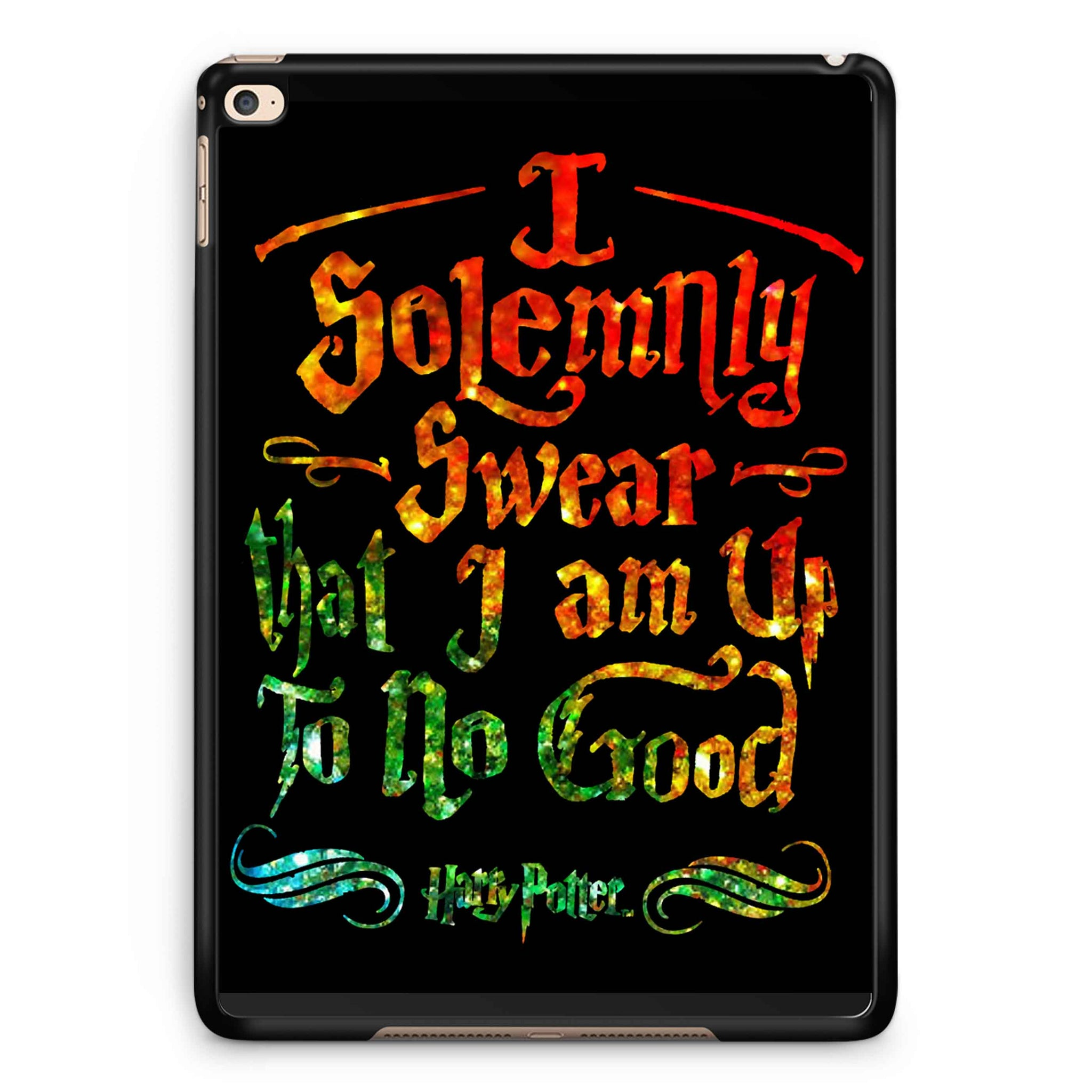 Harry Potter Solemnly Swear Glitter Rainbow iPad 2 / 3 / 4 / 5 / 6| iPad Air / Air 2 | iPad Mini 1 / 2 / 3 / 4 | iPad Pro Case