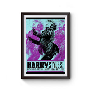 Harry Styles Tour In Argentina Poster